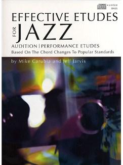 Effective Etudes For Jazz - Bass Books and CDs | Bass Guitar
