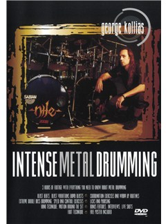 George Kollias: Intense Metal Drumming DVDs / Videos | Batterie