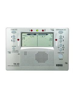 Korg Digital Tuner/Metronome TM40  |