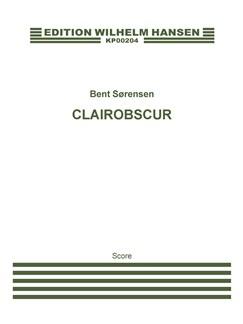 Bent Sørensen: Clairobscur (Score) Bog | Strygeensemble, Ensemble, Blæserensemble