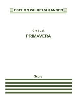 Ole Buck: Primavera (1984) Score Books | Chamber Group, Flute, Viola, Guitar