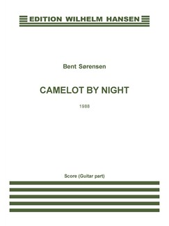 Bent Sørensen: Camelot By Night (Score And Parts) Books | Bass Flute, Guitar