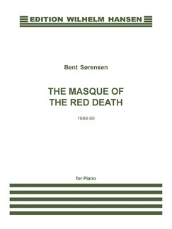 Bent Sørensen: The Masque Of The Red Death Books   Piano
