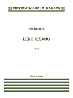 Per Nørgård: Lerchesang (Player's score) Books | Flute, Violin, Cello