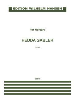 Per Nørgård: Hedda Gabler (Score) Bog | Bratsch, Harpe, Klaver Ensemble