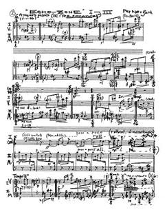 Per Nørgård: Echo-Zone I-III Books | Percussion Duet