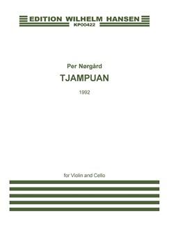 Per Nørgård: Tjampuan (Player's Score) Books | Orchestra, Violin, Cello