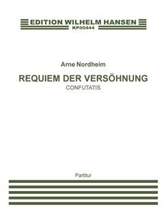 Arne Nordheim: Confutatis - Requiem Der Versöhnung (Score) Books | Orchestra, Soprano, SATB