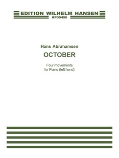 Hans Abrahamsen: October (Piano Solo) Books | Piano