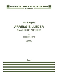Per Nørgård: Arresø-Billeder (Oboe and Piano) Books | Oboe, Piano Accompaniment