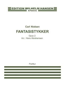 Carl Nielsen: Fantasistykker Op.2 (Arr. Hans Abrahamsen) Books | Oboe, Violin, Viola, Cello