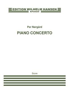 Per Nørgård: Piano Concerto - Concerto In Due Tempi (Score) Books | Piano, Orchestra