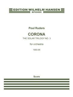Poul Ruders: Corona - The Solar Triology No. 3 (Score) Books | Orchestra