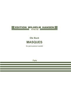 Ole Buck: Masques (Parts) Books | Percussion (Sextet)