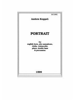Portrait - Part. (1999 Vers.) Bog | Altfløjte, Cello, Klarinet, Klaver solo, Bratsch, Violin