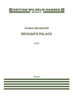 Anders Nordentoft: Beggar's Palace (Score) Books | Orchestra