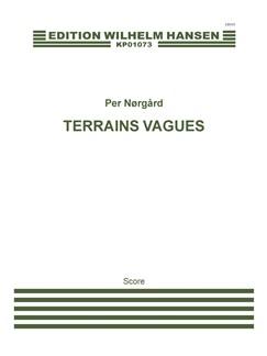 Terrains Vagues Bog | Accordeon, Basklarinet, Fagot, Klarinet, Engelskhorn, Fløjte, Horn, Obo, Slagtøj, Klaver solo, Piccolo, Basun, Trompet, Tuba, Pauke