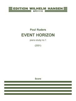 Poul Ruders: Event Horizon (Piano) Books | Piano