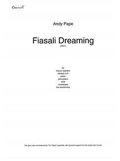 Fiasali Dreaming Bog | Mezzosopran, Klarinet, Klaver Ensemble, Slagtøj, Bratsch, Kontrabas, Elektronik