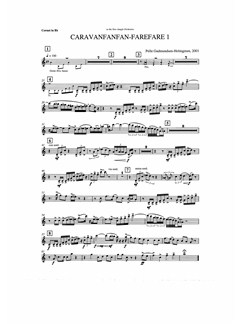 Pelle Gudmundsen-Holmgreen: Caravanfanfan-farefare 1 (Parts) Bog | Ensemble