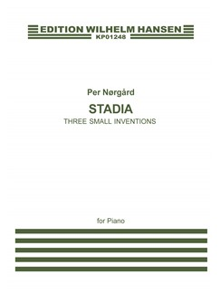 Per Nørgård: Stadier / Stages Books | Piano