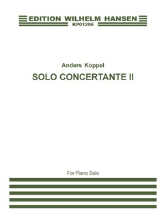 Anders Koppel: Solo Concertante II (Piano Solo) Books | Piano