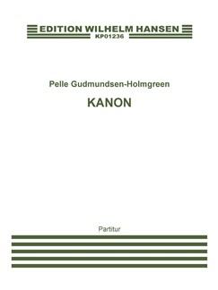 Pelle Gudmundsen Holmegreen: Kanon For 9 Instrumenter (Score) Books | Chamber Group