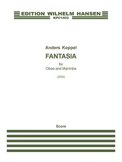 Anders Koppel: Fantasia For Oboe And Marimba (Score And Part) Books | Oboe, Marimba