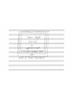 Anders Koppel: Exile (Score And Part) Books   Cor Anglais, Organ