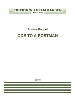 Anders Koppel: Ode To A Postman (Score) Books | Orchestra