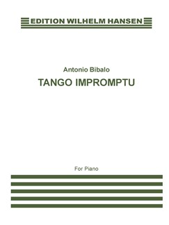 Antonio Bibalo: Tango Impromptu For Piano Books | Piano