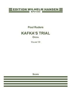 Poul Ruders: Kafka's Trial (Full Score) Books | Opera