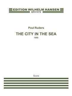 Poul Ruders: The City In The Sea (Score) Books | Alto, Orchestra