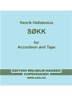 Henrik Hellstenius: Sokk - A Piece for Accordion and Tape (Tape on CD) CDs | Electronics