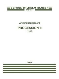 Anders Brødsgaard: Procession II (Score) Books | Orchestra