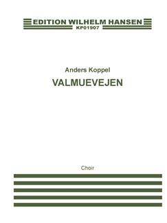 Anders Koppel: Valmuevejen  (Choral Score) Books | SA, Soprano Saxophone, String Instruments