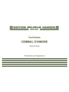 Poul Ruders: Cembal d'Amore - Second Book (Score) Books | Piano, Harpsichord