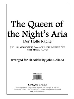 W. A. Mozart: The Queen Of The Nights Aria (E Flat Soloist) Books | Solo E Flat Instrument, Brass Band