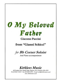 Giacomo Puccini: O My Beloved Father Books | Cornet, Piano Accompaniment