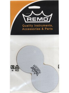 Remo: Double Falam Slam Pad For Bass Drum Head - 2.5 Inch  | Drums