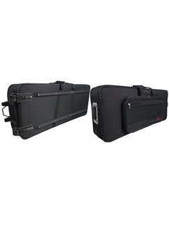 Stagg: Keyboard/Stage Piano Softcase With Wheels -  59x18x6.3 in./148x46x16 cm  | Keyboard, Digital Piano