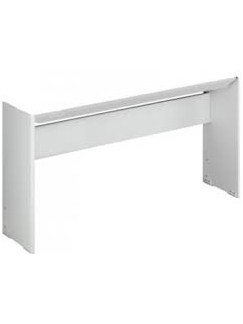 Yamaha L85WH Stand: For P105WH (White)  | Keyboard