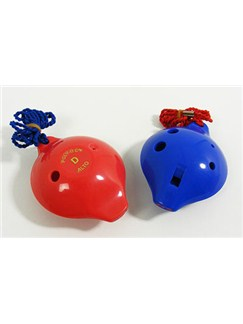 Langley: Poly-Oc Plastic Ocarina - Alto 6 hole Instrument | Ocarina
