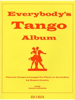Everybody's Tango Album (Accordion) Books | Accordion