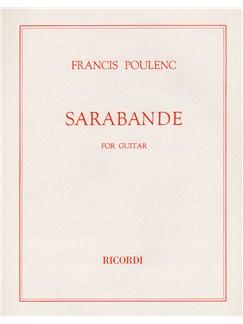 Francis Poulenc: Sarabande (Guitar) Books | Guitar