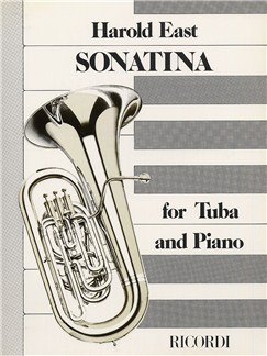 Harold East: Sonatina For Tuba and Piano Books | Tuba and Piano