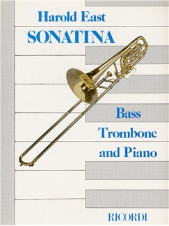 Harold East: Sonatina For Bass Trombone and Piano Books | Bass Trombone, Piano Accompaniment