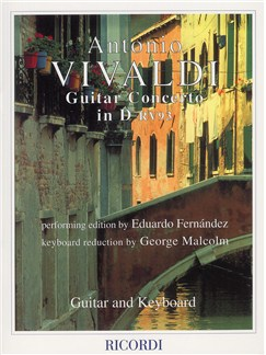 Antonio Vivaldi: Concerto In D RV93 (Guitar and Piano) Books | Guitar, Piano Accompaniment