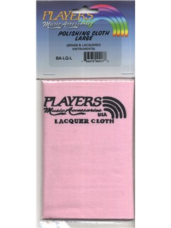 Players: Lacquer Polishing Cloth  | Brass Instruments