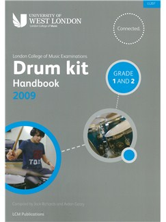 LCM Drum Kit Handbook 2009 Grades 1 And 2 Books and CDs | Drums